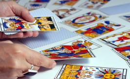 The Greek cross spread tarot reading method