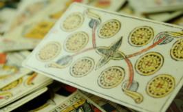 56 minor arcana cards from tarot of marseille