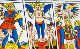 The Hermit - Tarot of Marseille