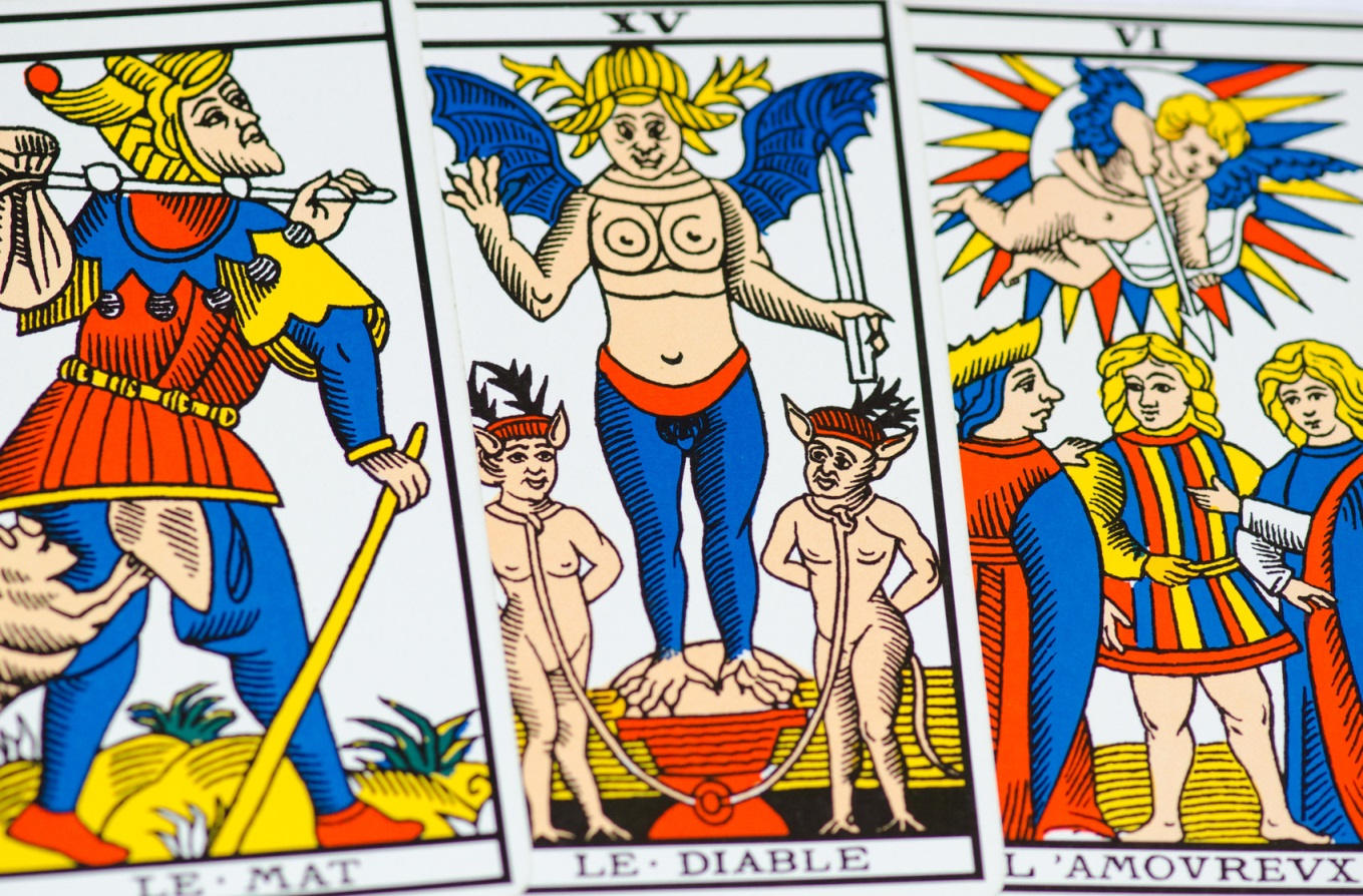 The Emperor - Tarot of Marseille
