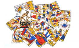 The Wheel of Fortune - Tarot of Marseille